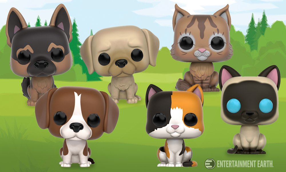 Support the @ASPCA by pre-ordering a Pop! Pet by @originalfunko! Check them out: https://t.co/hhRMeaTjyK https://t.co/pMIqiUFcQE