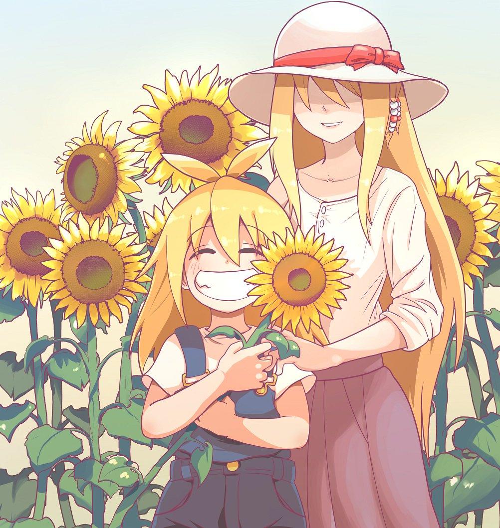 向日葵の花言葉は「いつもあなたを見ている」
