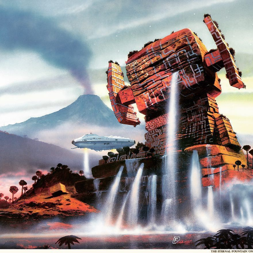 Chris Foss space art. I love this sort of stuff!
