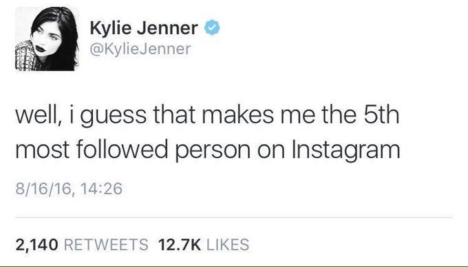 When you don't care about the drama. Kylie has no chill lol #JustinDeactivatedParty https://t.co/RPTOci7jkP