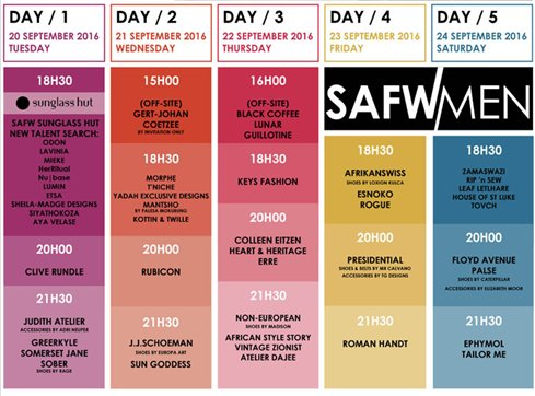 Stay with #SAFW, the biggest marketing platform for Fashion Designers in Africa. Get your tickets on our website! https://t.co/ECsjssIXXF