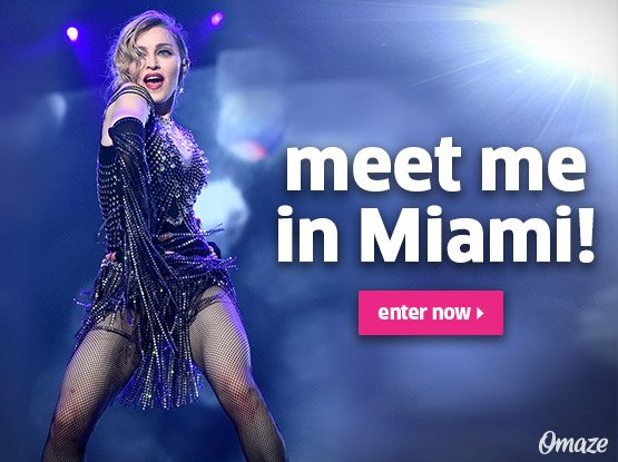 I want to take YOU to Art Basel! ???????????????? ????????????????????????  WIN: https://t.co/jivl2HRXXs #MadonnaxOmaze https://t.co/h7TsJSA1FX
