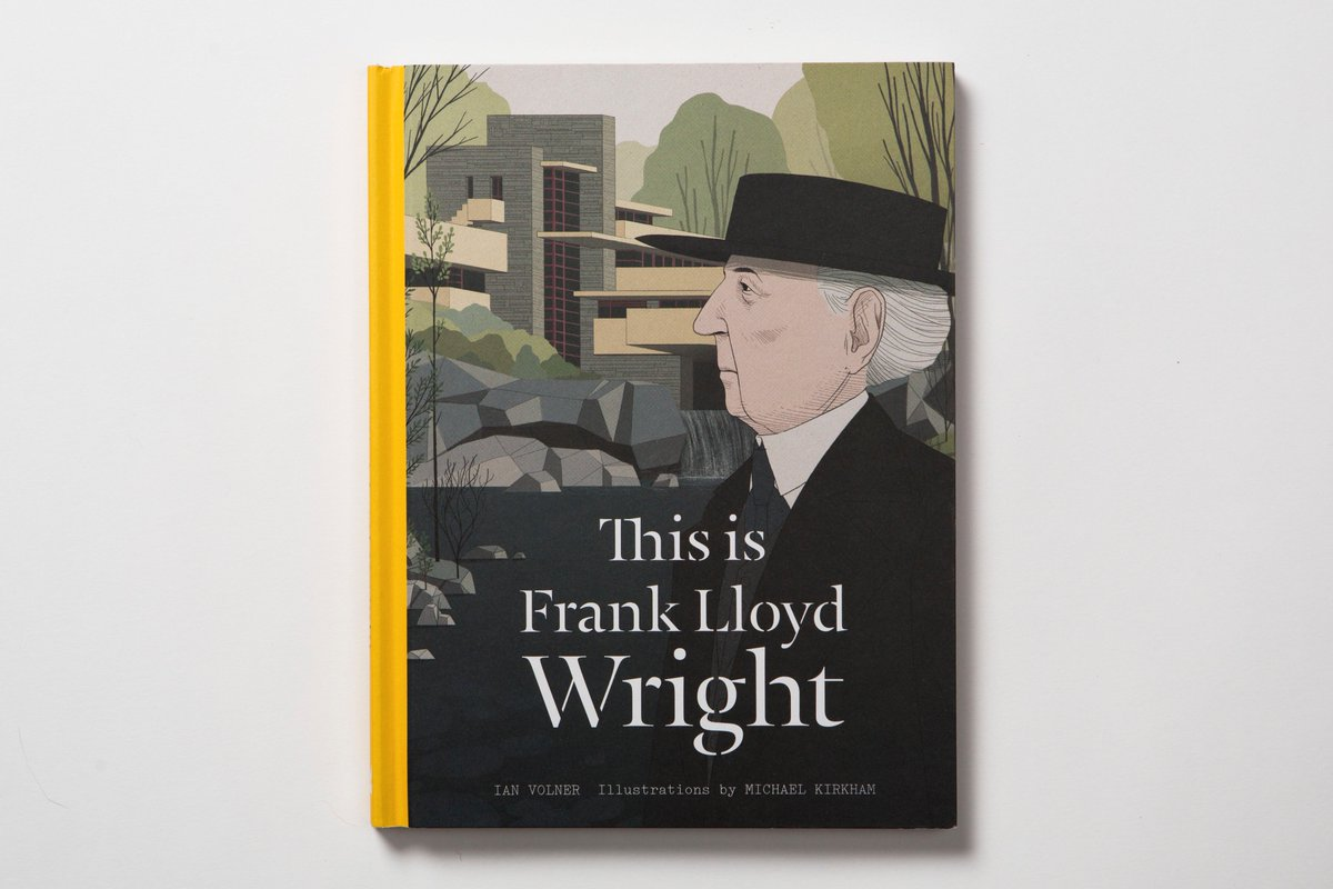 Follow us and RT this post before 19/8 for your chance to #win a copy of 'This is #FrankLloydWright' by Ian Volner! https://t.co/3ArC50P3hn