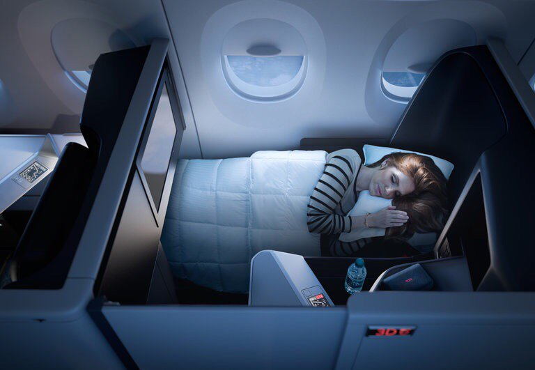 On Delta, All-Suite Business Class Flights