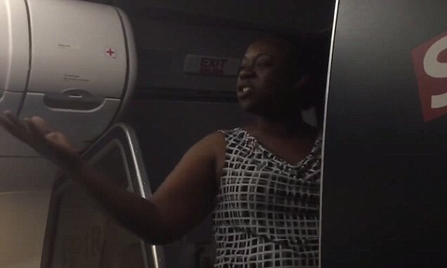 Spirit Airlines passenger's in-flight meltdown is caught on camera