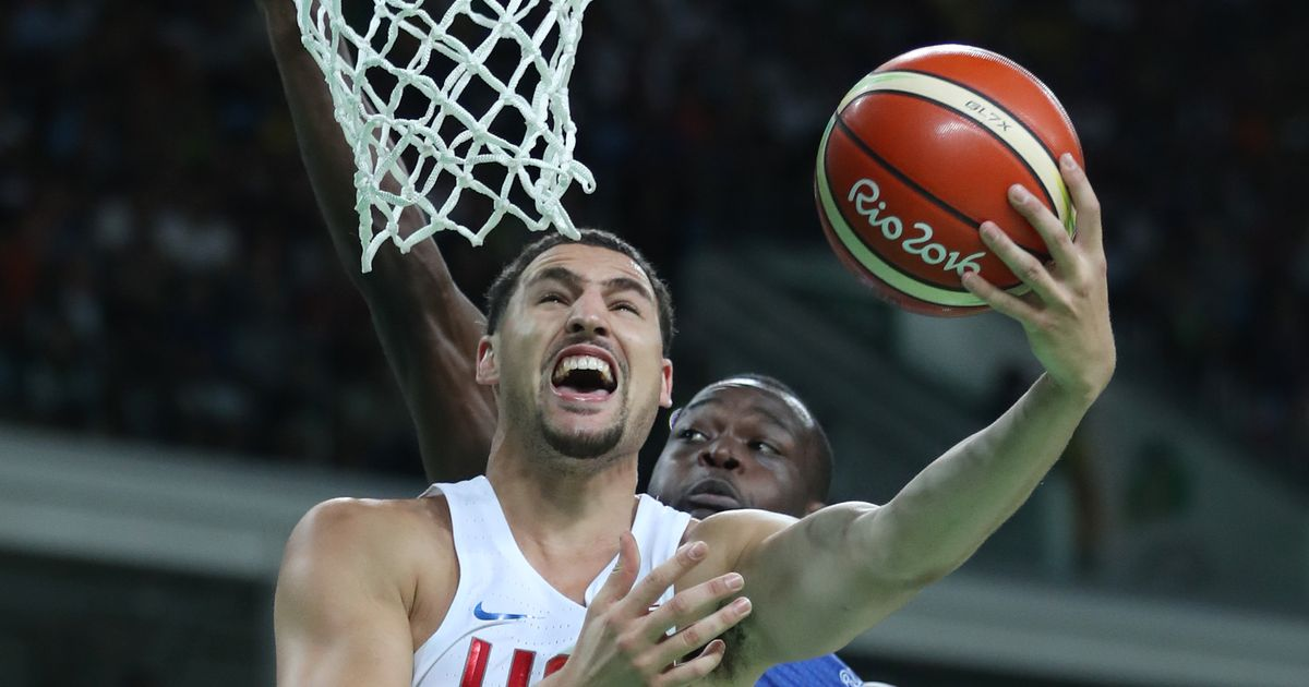 U.S. men's basketball hangs on to defeat France at Rio Olympics