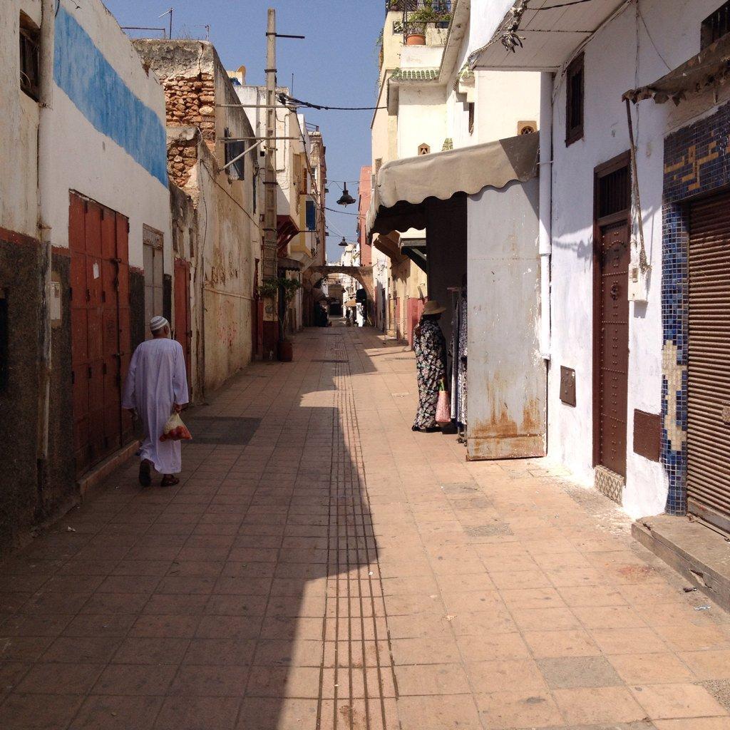 Dans la médina de Rabat, la capitale du Maroc https://t.co/nhzdviY5GU