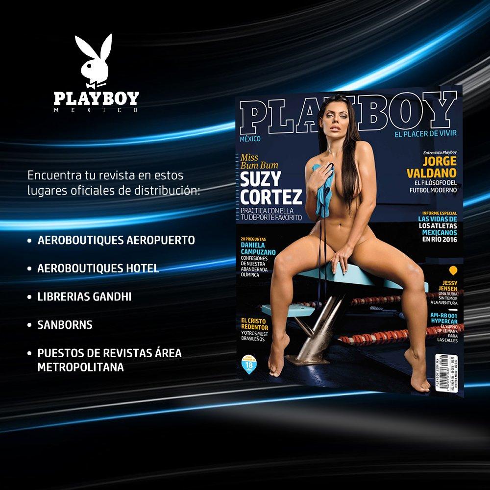 RT @PlayboyMX: ¡No te quedes sin tu #Playboy de agosto! Puedes adquirirla de manera física en estos lugares oficiales. https://t.co/hzpeP8y…