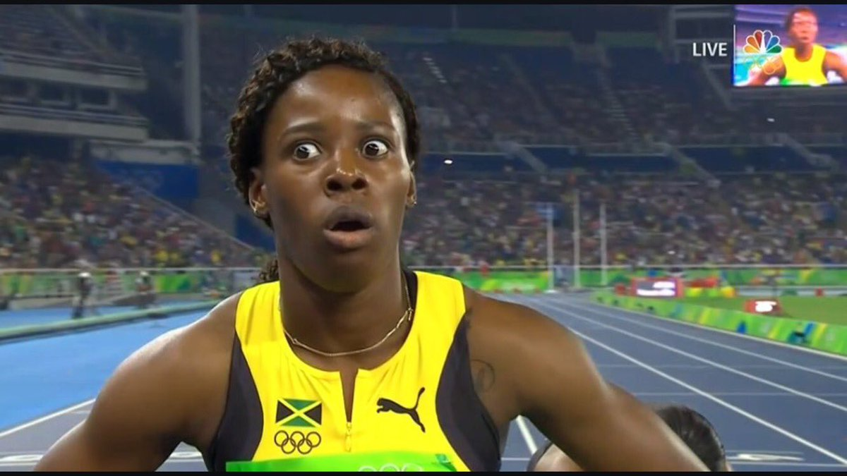 My face when I saw the 400m WR https://t.co/KcN2EGsmuy