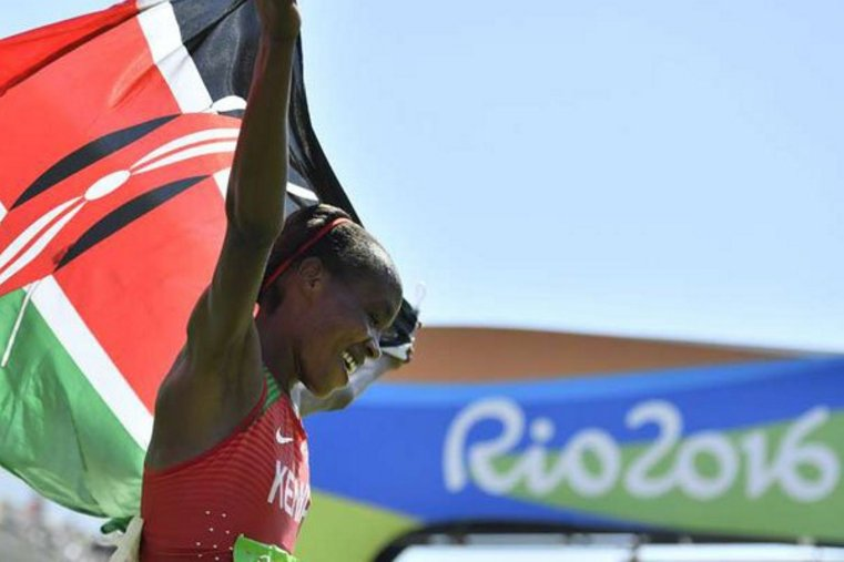 Ndereba happy after Sumgong breaks Olympics jinx