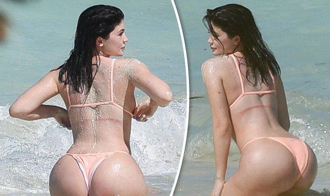 Kim kardashian sisters bikini