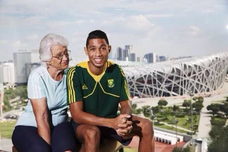 "Phenomenal woman!  MT @gsport4girls ""Tannie Ans"" Botha, coach of #WaydeVanNiekerk... https://t.co/MoGnfAh8jH"