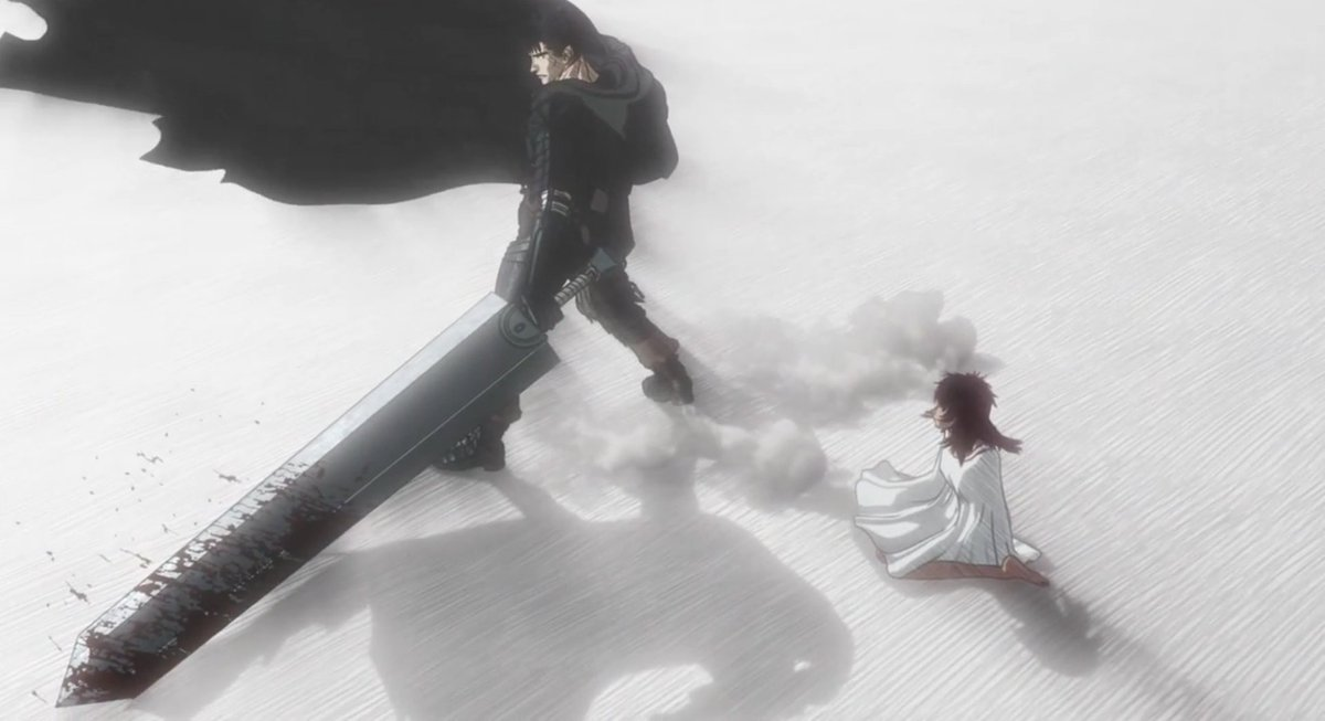 One thing the #berserk #anime got very right: my single favorite panel in the whole manga. https://t.co/Bu4hXfOcmX