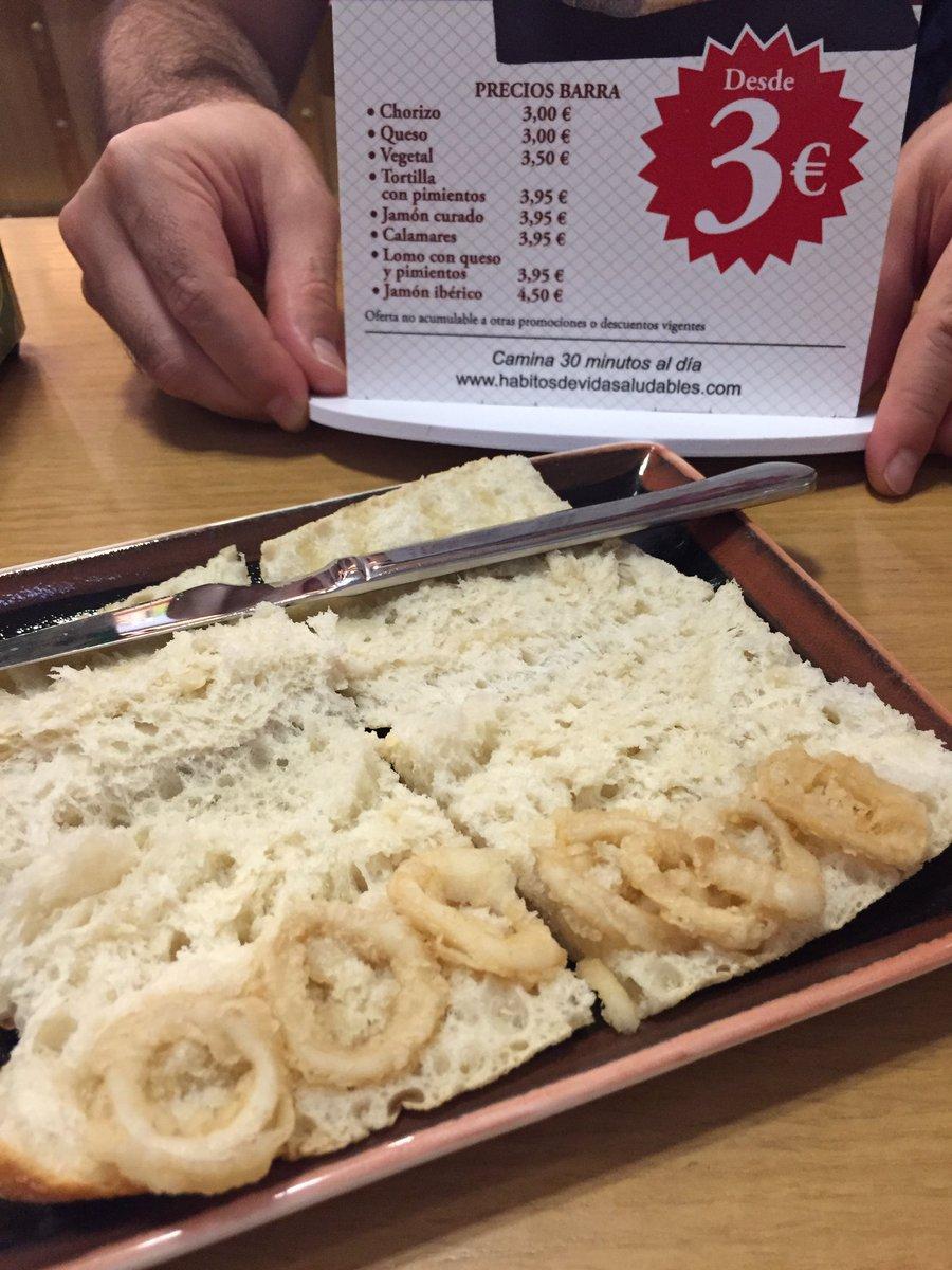 Esto es un bocadillo de calamares según @gambrinus_ en #Chamartín #vergüenzaajena https://t.co/tuKFcpDLAk