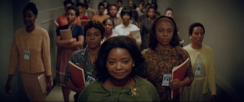 Watch the first trailer for #HiddenFigures about NASA's black female mathematicians: https://t.co/WIBSzHOUeC https://t.co/5o3sGC1HcU