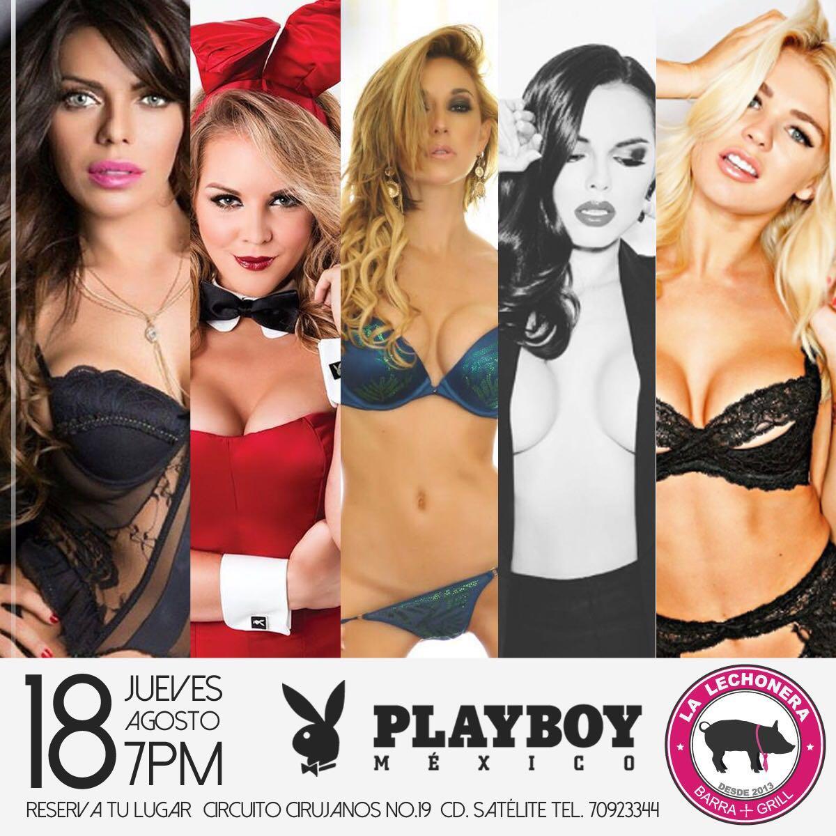 RT @PlayboyMX: ¡Hermosas conejitas! Reserva tu lugar y conócelas este 18 de Agosto en la @lalechoneramx ¡Te esperamos! https://t.co/0Deq6LO…