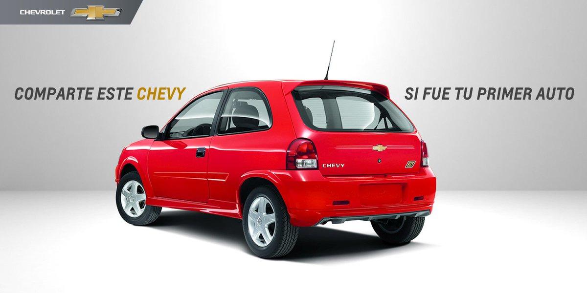 Llenemos Twitter de buenos recuerdos. RT si tu primer auto también fue un Chevy. #FelizLunes https://t.co/aZ208SvqyR
