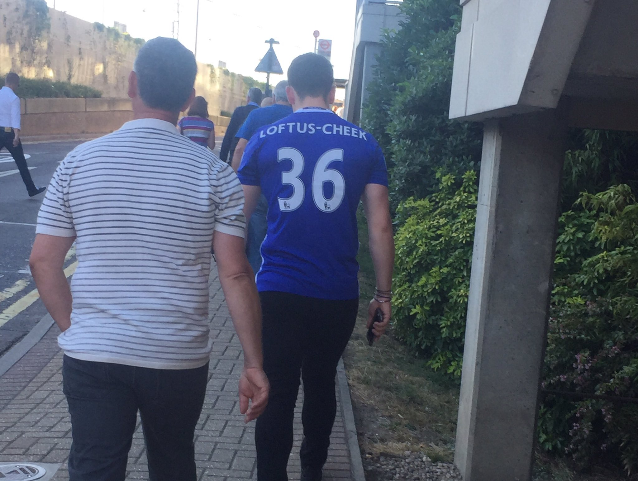 On the way to Stamford Bridge. New season optimism, eh? https://t.co/mZMCytVwmR