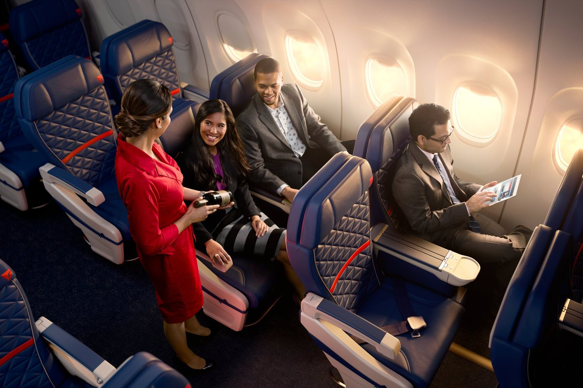 Complimentary meals & alcohol to be offered on @Delta Honolulu flights.