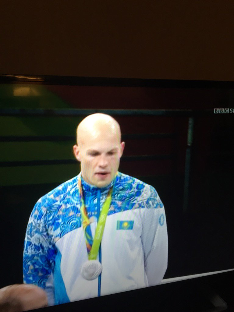 The REAL gold medalist!