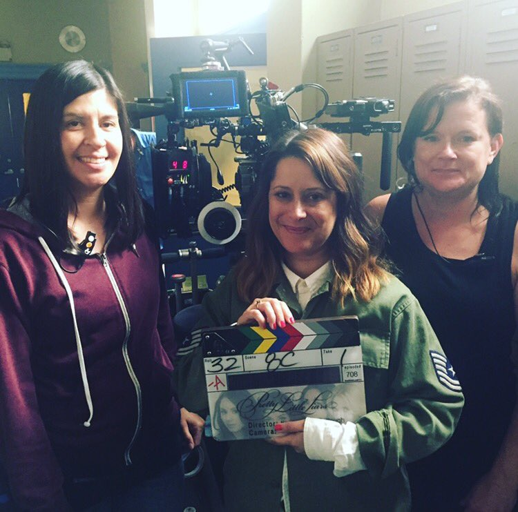So excited for our #PLL guest  Director Kimberly McCullough @whitewatercrew on #PLLAS 2moro https://t.co/NkE0SBx24f https://t.co/fnrqCHNaMk