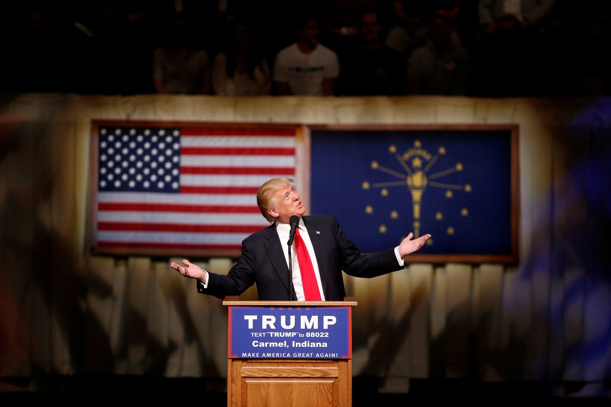 С поздравлениями победа трампа на выборах