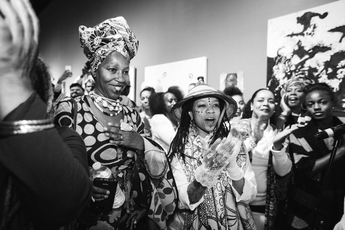 #TheBlackWomanisGod closes Aug 17. Thanks to Karen Seneferu & Melorra Green for trusting #SOMArts with your vision! https://t.co/euqipD56Gp