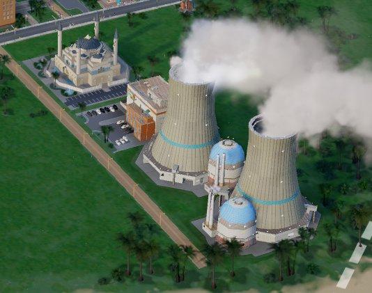 シムシティで原子炉の近くにモスクを建てて「アッラーのパワーで発電!!」とかふざける ↓ 直後に竜巻発生、原子炉直撃 ↓ メルトダウン発生、近隣に人が住めなくなる https://t.co/cZs0x5BLSj