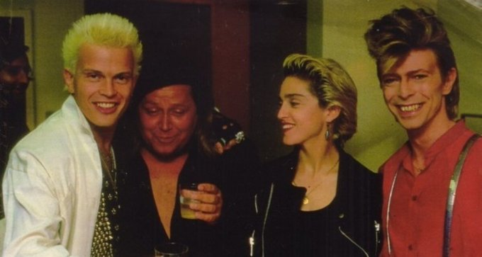 Wishing Madonna a very Happy Birthday! X