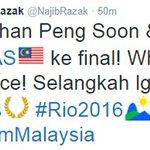 PM ucap tahniah beregu campuran Malaysia