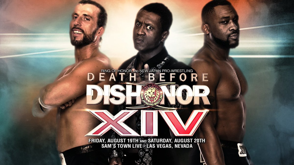 Don't miss DEATH BEFORE DISHONOR LIVE on PPV Fri Aug 19th 9E / 6P @fitetv all major providers #WatchROH https://t.co/M2VFuw4LPh