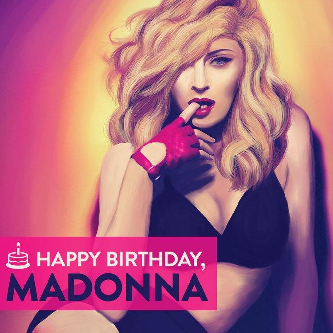 Happy Birthday to the Queen of Pop: