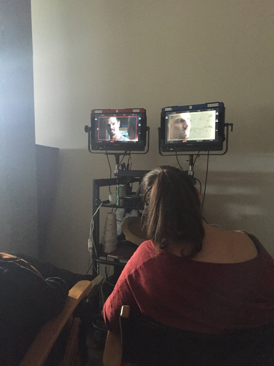 Best script supervisor ever.Thank you @sscalisi. No idea who that guy is on screen. #MaryKillsPeople. @cameronpicstv https://t.co/CUSuaunc6N