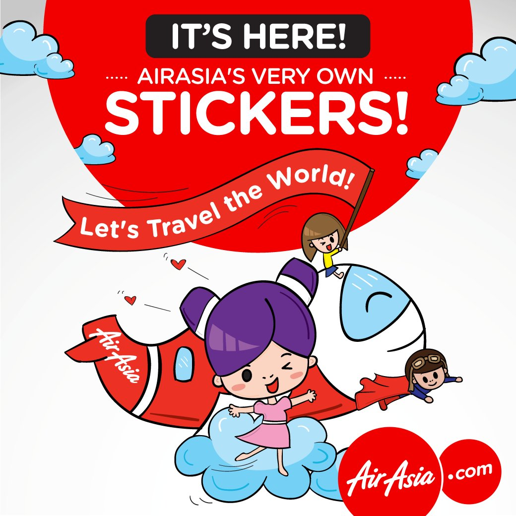 Our LINE stickers are here! Add us as a Friend to download these for FREE @