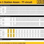 30 september t/m 2 oktober @OfficialBSB : @qbuzzgd bus 1 @ttcircuitassen - Station Assen - Marsdijk rijdt extra https://t.co/AVPJYO5opu