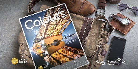 Dapatkan informasi mengenai destinasi favorit di majalah COLOURS edisi Agustus 2016.