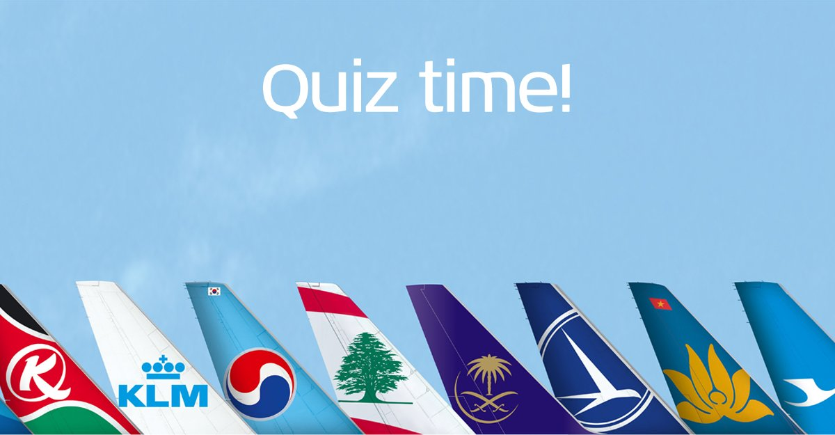Airline Logo Quiz - Can you recognize them all?