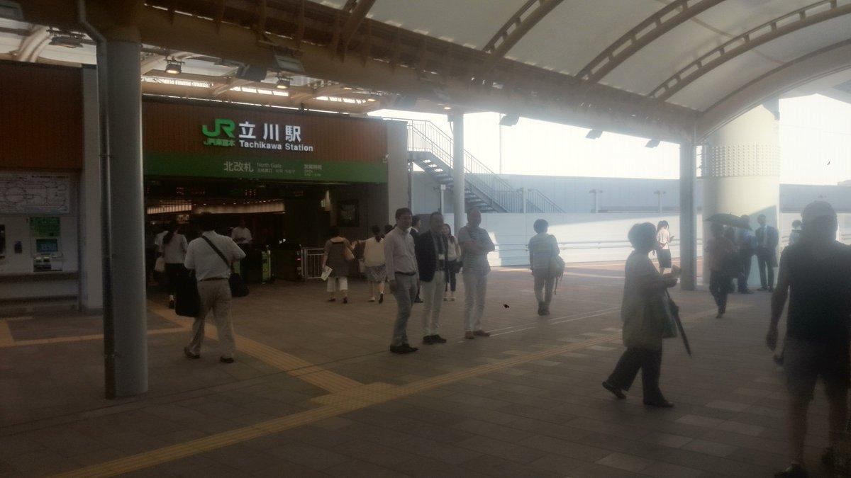 本日午後から、立川の南北をつなぐ新しい自由通路が開通しました!立川北駅・立川南駅へお越しの際は、JR…