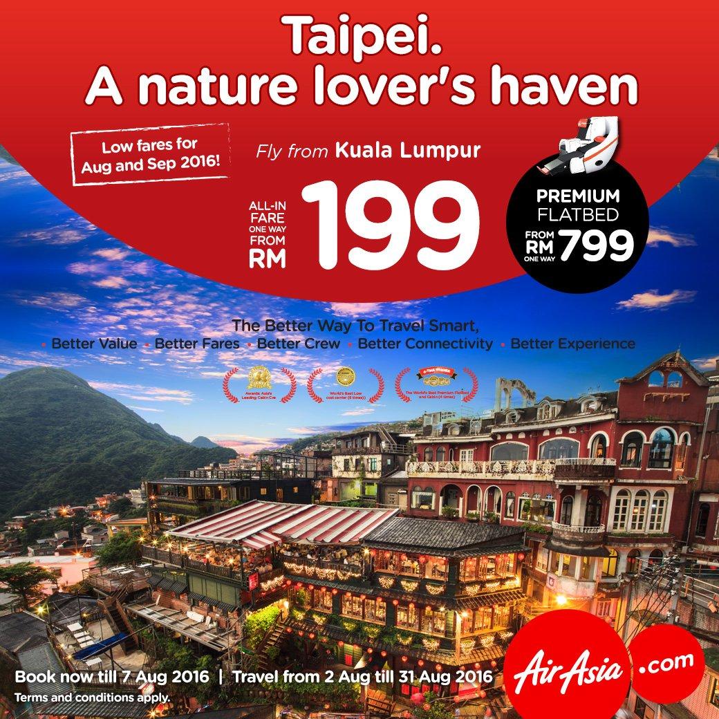 Get your camera ready & fly to Taiwan! Pantai, kawasan pergunungan & pulau memanggil-manggil