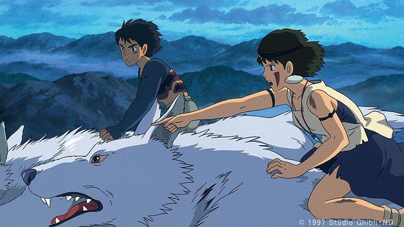 先ほどのツイートに誤りがありました。あきこの楽しみにしているスタジオジブリ宮崎駿監督作品「もののけ姫…