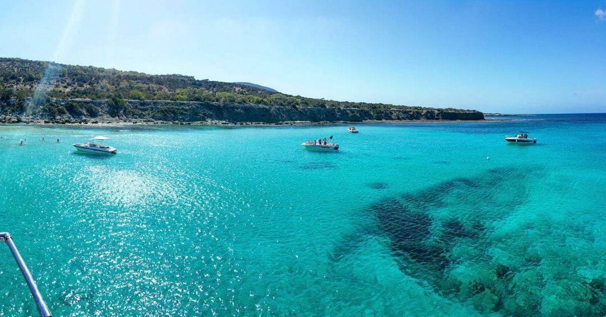 The Mediterranean waters you find in Cyprus are out of this world. Do you agree ? #islandlife #summer #sea #Protaras https://t.co/HKhPPjhwL9