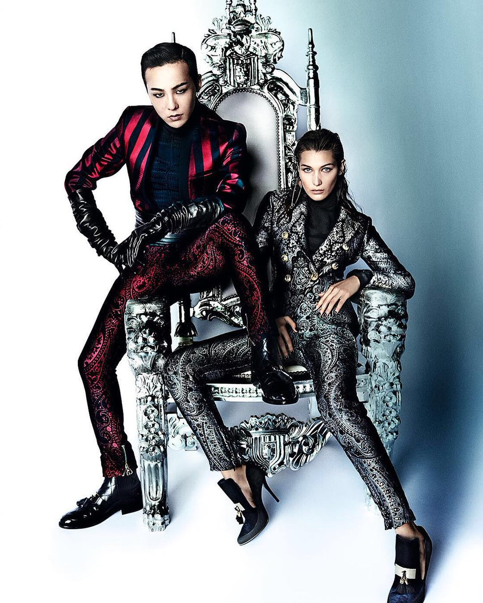 Inside VOGUE Me, @IBGDRGN & @bellahadid wear FW16 @Balmain. https://t.co/RvotLw2z9E