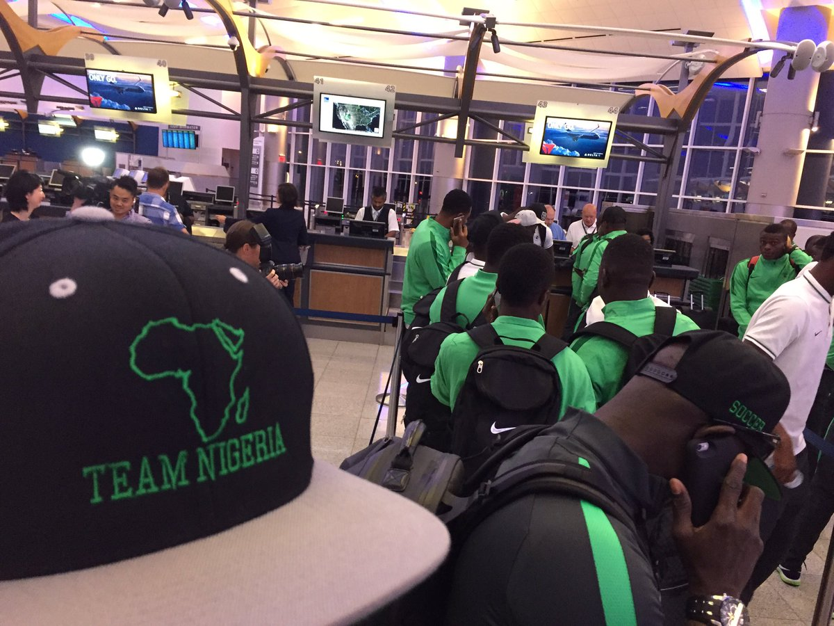 20 years ago, the Nigerian #Olympic soccer team arrived late in #ATL after a travel mixup. They won gold. 1/2 https://t.co/tDGd7HQxJs