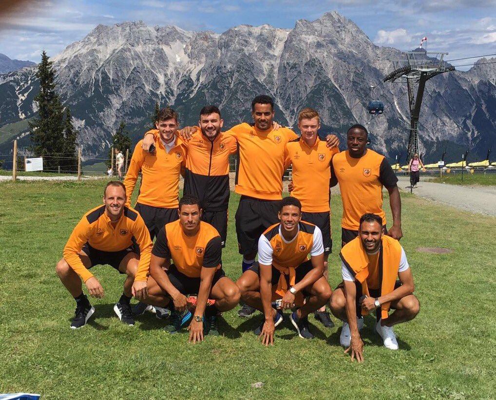 Hull City squad photo 2016/17