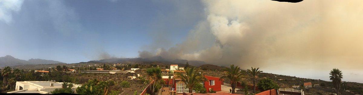 Grandísimo el trabajo de las #BRIF en el incendio de La Palma. Actualización  #IFJedey #LaPalma https://t.co/T9xPlDWov7