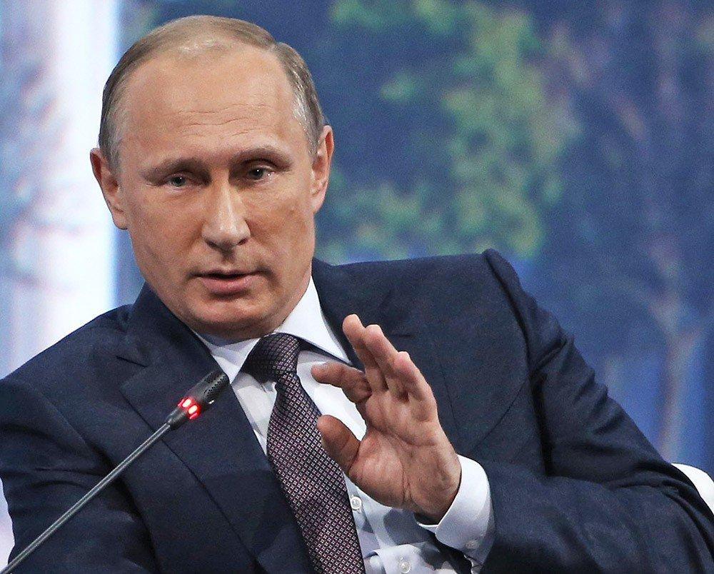 Путин рассказал о работе в нелегальной разведке