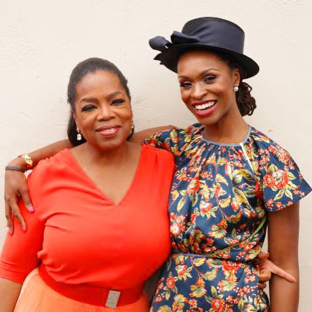 Me and Queen @Oprah at @OWNTV for the inaugural #SuperSoul100 shoot. https://t.co/xD1EL0VJi3 deeply honored! https://t.co/vz4dOxyqzU
