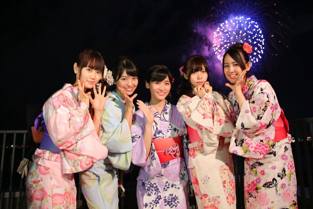 【浴衣】クイズの答えの前に、昨日の長岡花火でのメンバーの浴衣姿を。  こういう姿を見ると、みんなアイ…
