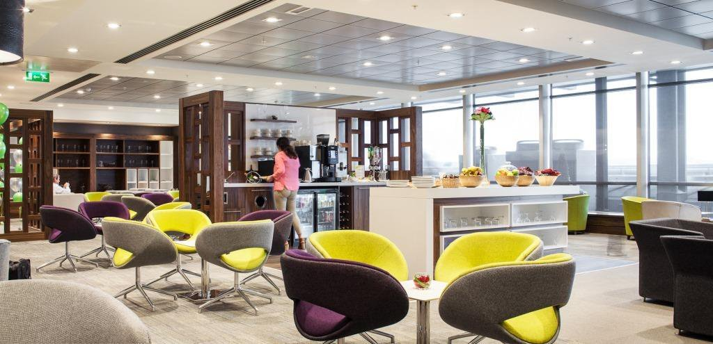 Experience the comfort & relaxing atmosphere of our Executive Lounge @DublinAirport