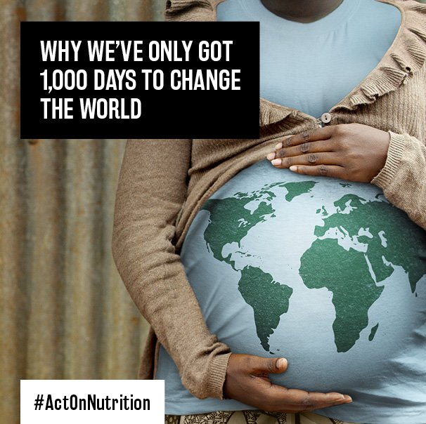 Good nutrition in the first 1000 days sets the stage for lifelong health& prosperity #ActOnNutrition #Nutrition4Gold https://t.co/q1jlbtMIlP